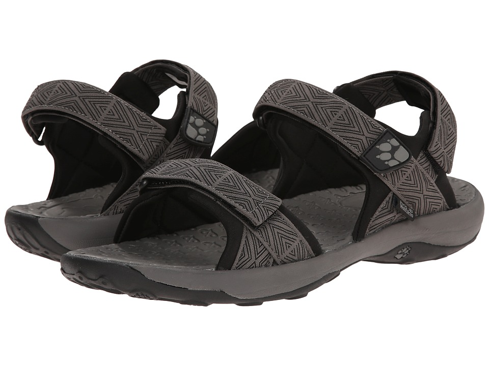 Jack Wolfskin - Ensenada (Tarmac Grey) Men's Shoes