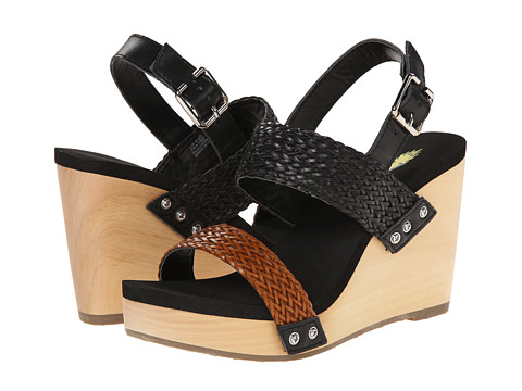 VOLATILE - Baker (Black Multi) Women's Wedge Shoes