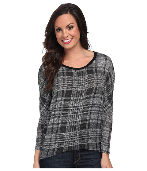 Scully - Maria Split Back Top (Grey) Women
