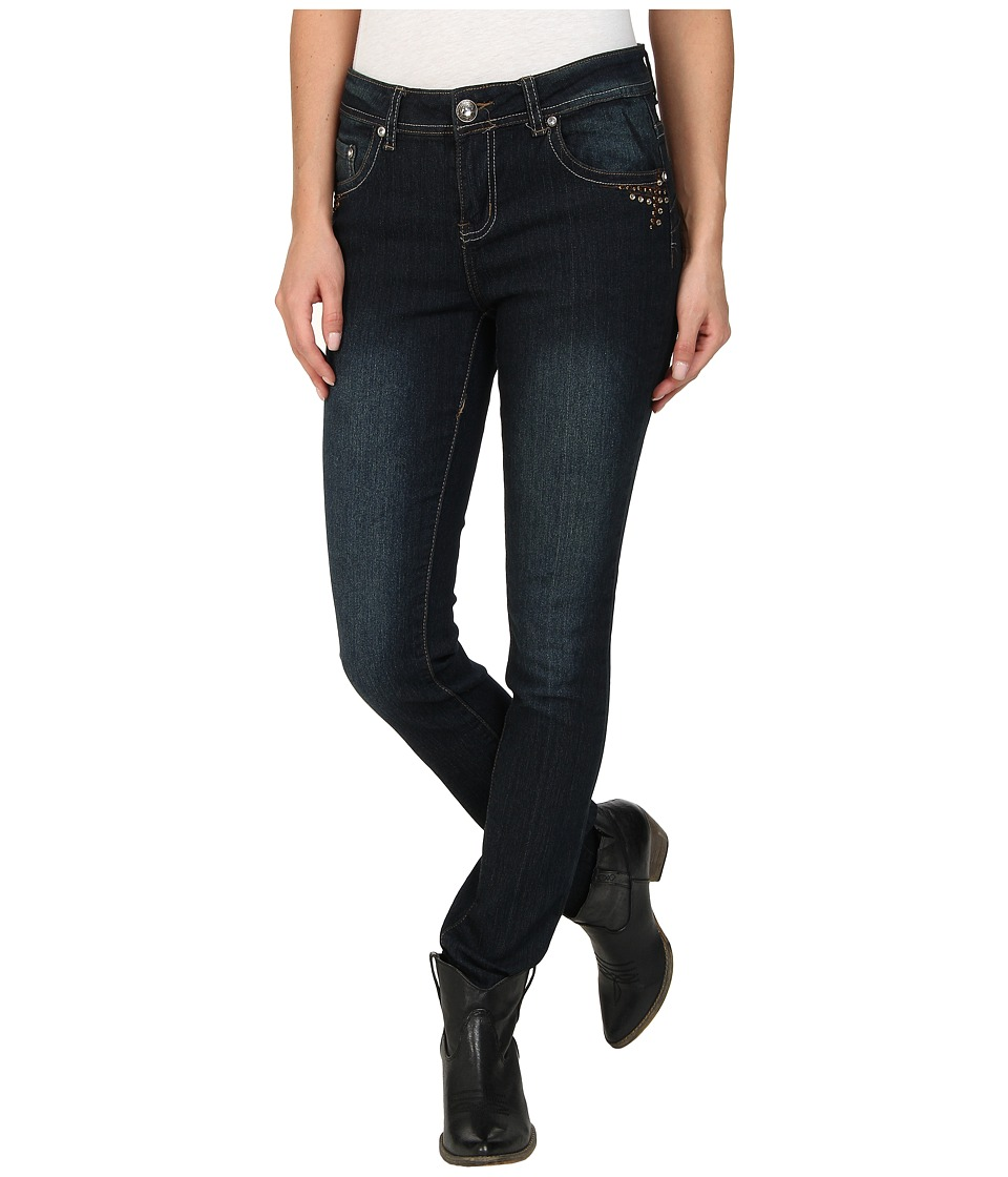Scully - Kallie Studded Jeans (Blue) Women