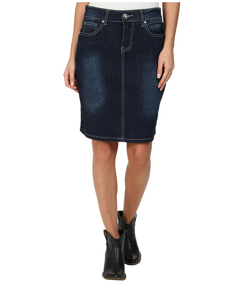 Scully - The Classic Denim Skirt (Blue) Women