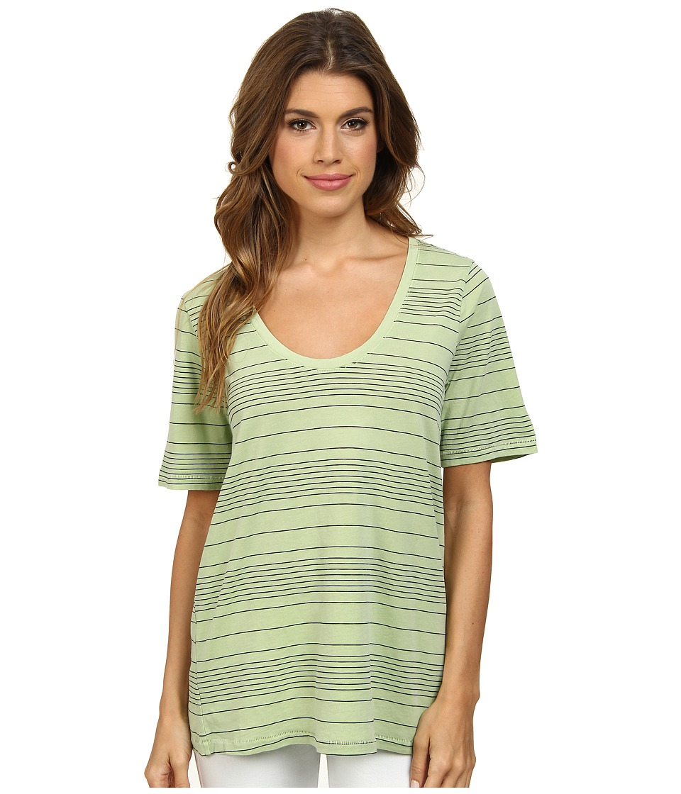 Splendid Nairobi Stripe Tee (Honeydew) Women