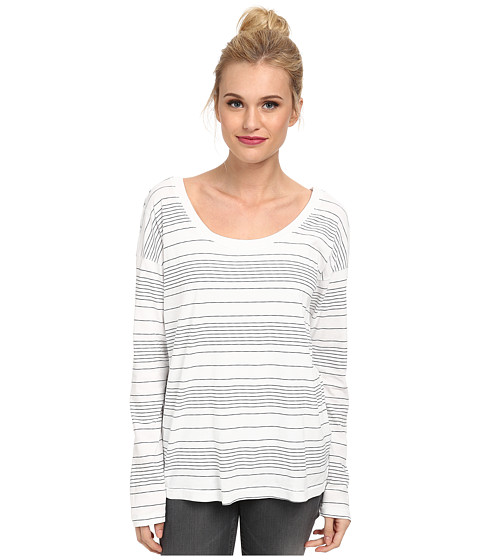 Splendid - Nairobi Stripe Long Sleeve (Paper) Women