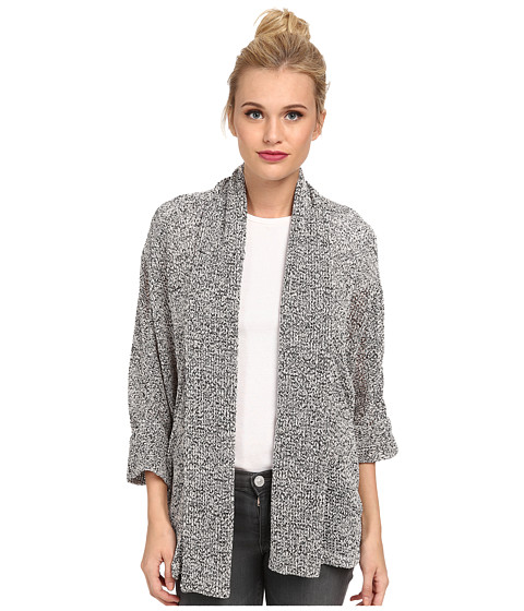 Splendid - Jungle Boucle Cardigan (Pearl) Women