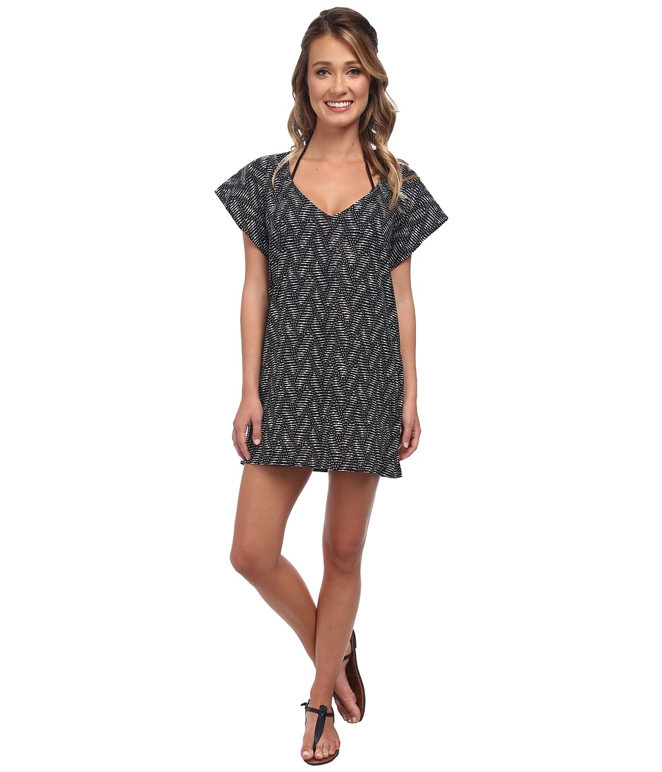 Hat Attack - Pattern Cover-Up (Black Graphic) Women
