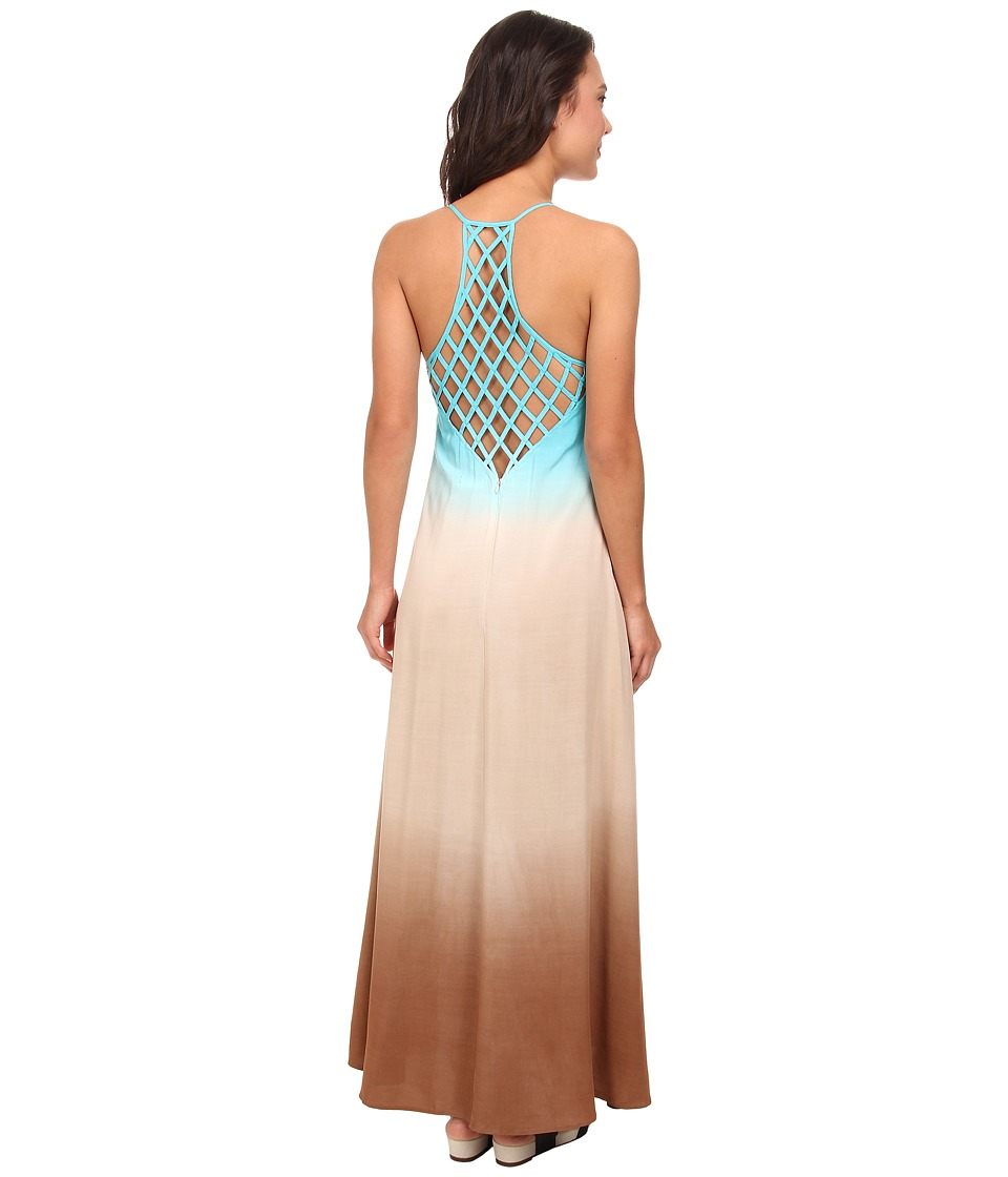 Culture Phit - Jordan Ombre Maxi Dress (Blue) Women
