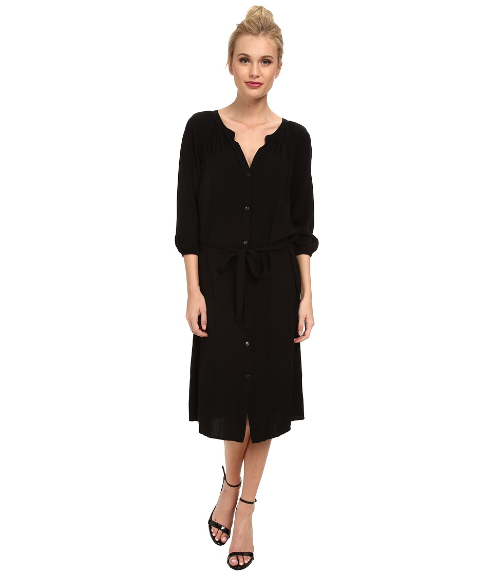 Splendid - Shirtdress (Black) Women's Dress