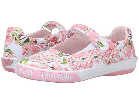 Lelli Kelly Kids - Fiori Di Pesco Dolly (Toddler/Little Kid/Big Kid) (White Fantasy) Girls Shoes