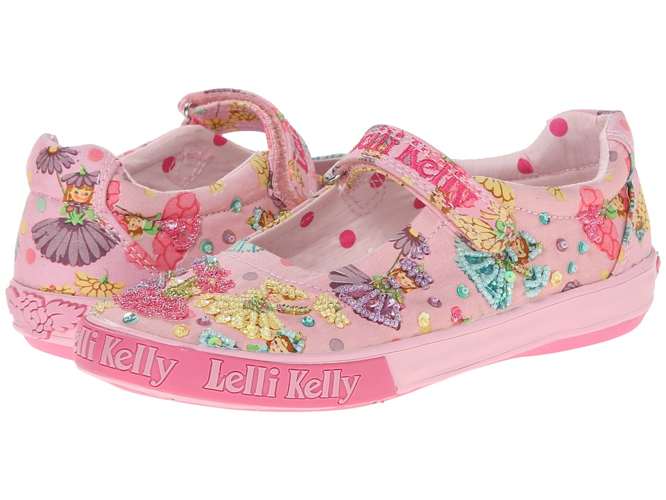 Lelli Kelly Kids - Flower Fairy Dolly (Toddler/Little Kid/Big Kid) (Pink Fantasy) Girls Shoes
