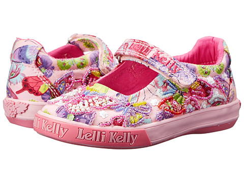 Lelli Kelly Kids - Maisie Dolly (Toddler/Little Kid/Big Kid) (Pink Fantasy) Girls Shoes