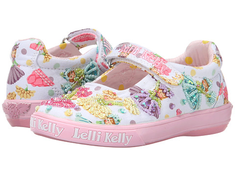 Lelli Kelly Kids - Flower Fairy Dolly (Toddler/Little Kid/Big Kid) (White Fantasy) Girls Shoes