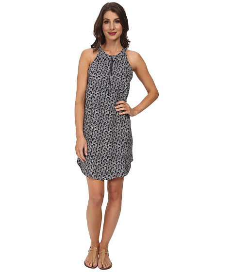 Splendid - Zebra Print Dress (Navy) Women's Dress