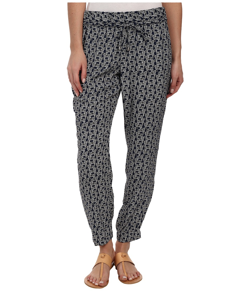 Splendid - Zebra Print Pant (Navy) Women's Casual Pants