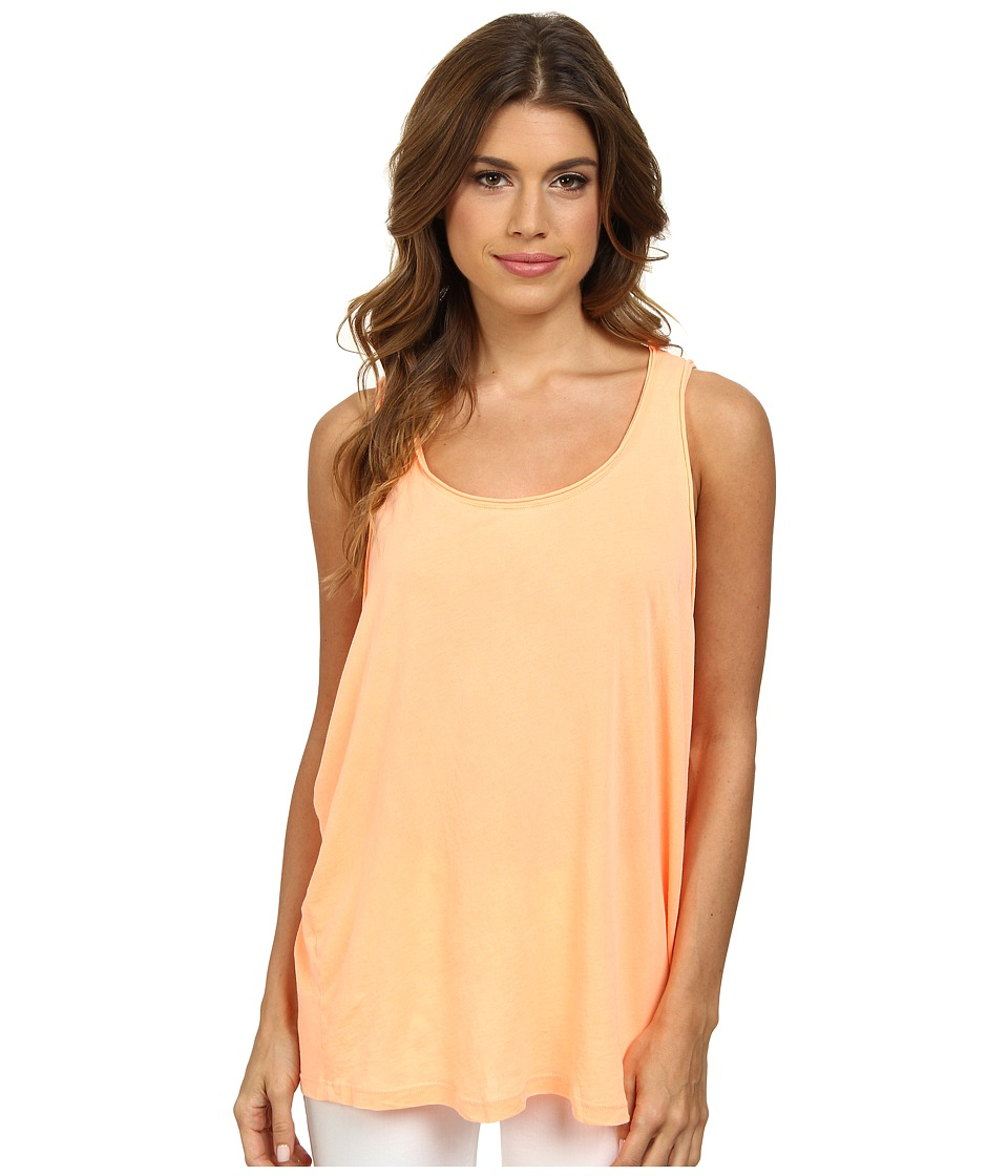 Splendid - Vintage Whisper Tank Top (Bright Tangerine) Women