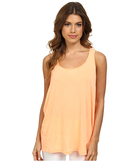 Splendid - Vintage Whisper Tank Top (Bright Tangerine) Women's Sleeveless
