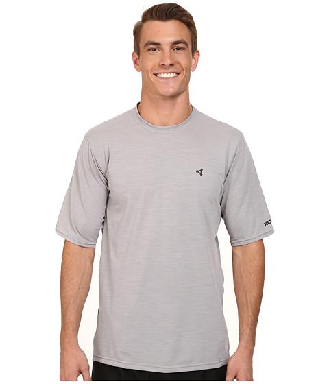 XCEL Wetsuits - Jenson 4-Way Series S/S UV (Heather Alloy) Men's Swimwear