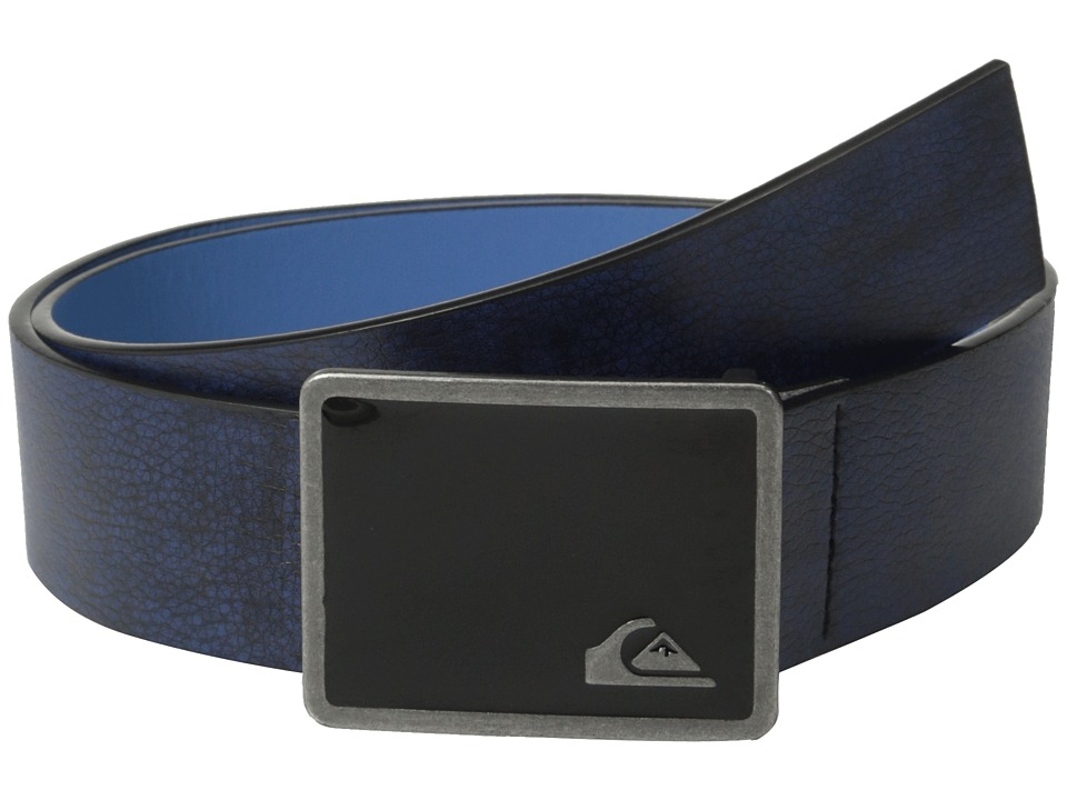 Quiksilver - Lock N Load Belt (Dark Denim) Men's Belts