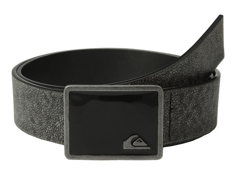 Quiksilver - Lock N Load Belt (Black) Men's Belts
