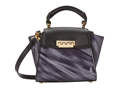 ZAC Zac Posen - Eartha Top-Handle Mini (Black) Top-handle Handbags