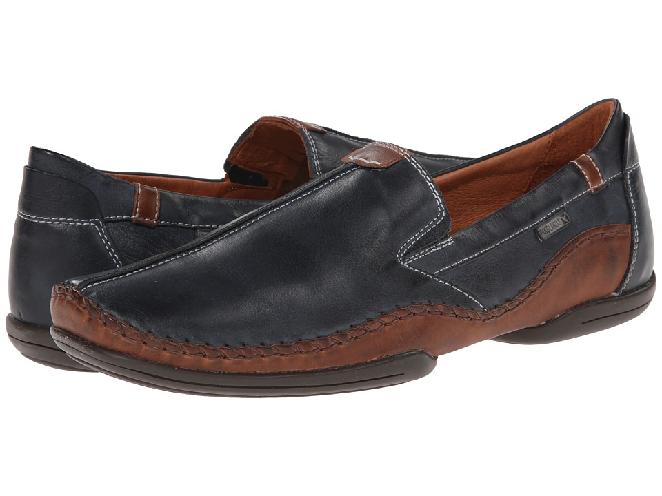 Pikolinos - Puerto Rico 03A-3008 (Navy Blue) Men's Slip on Shoes