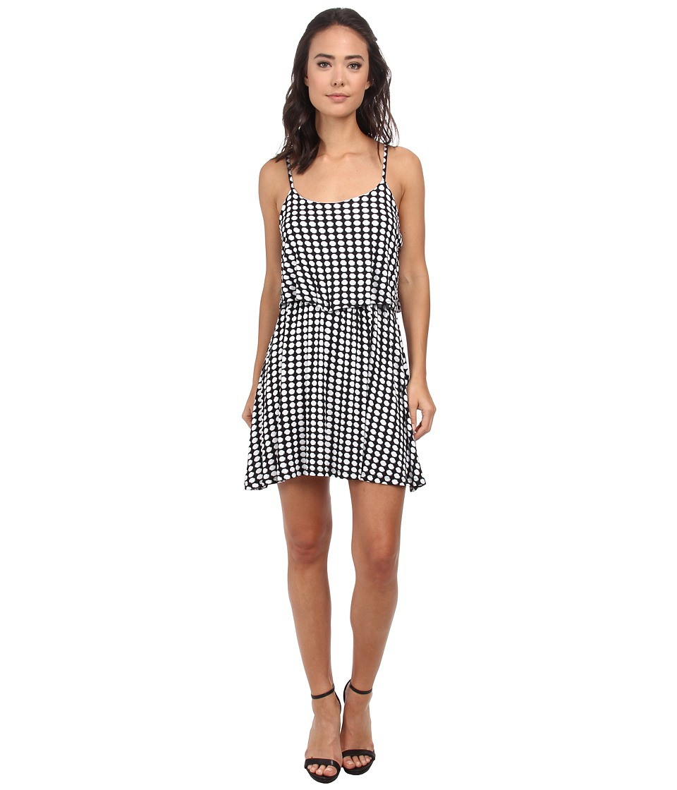 Gabriella Rocha - Polka Dot Dress (Black/Pure White) Women's Dress