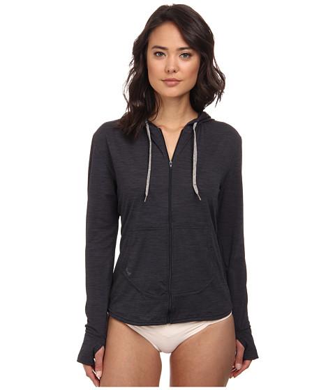 XCEL Wetsuits - Lana 4-Way L/S Front Zip Hoodie (Heather Black) Women