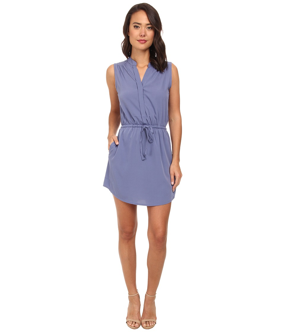 Brigitte Bailey - Sleeveless Wrap Dress (Moonlight) Women's Dress