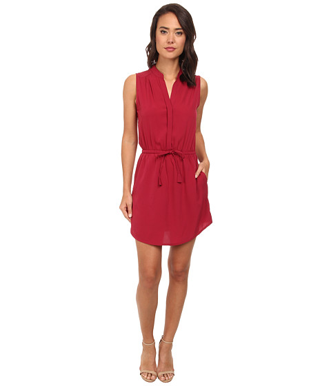 Brigitte Bailey - Sleeveless Wrap Dress (Mulberry) Women's Dress