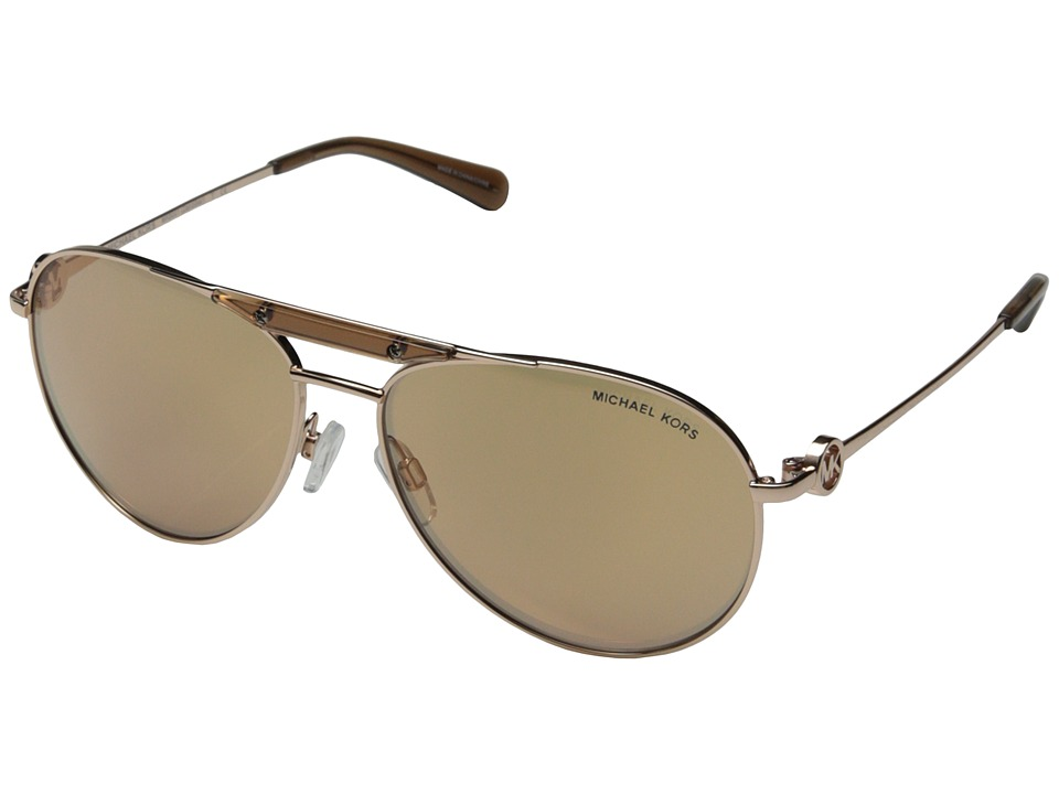 Michael Kors - Zanzibar (Rose Gold) Fashion Sunglasses