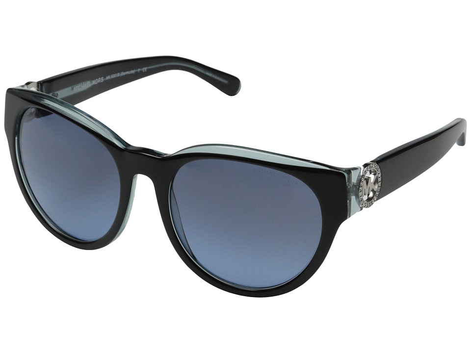 Michael Kors - Bermuda (Black Blue) Fashion Sunglasses