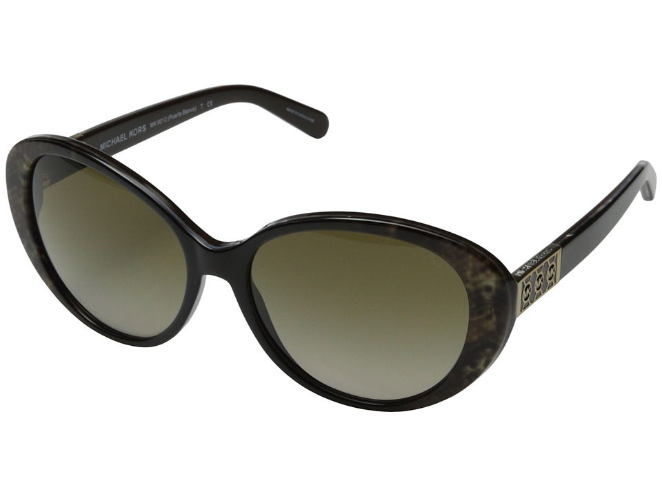 Michael Kors - Puerto Banus (Brown) Fashion Sunglasses