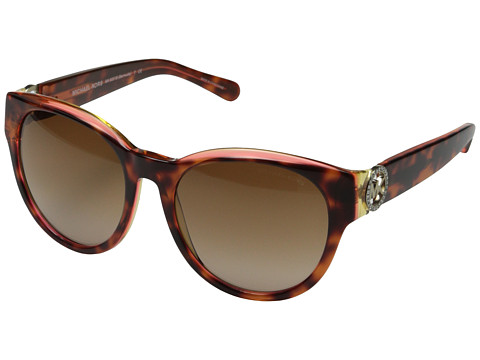 Michael Kors - Bermuda (Yellow Tortoise) Fashion Sunglasses