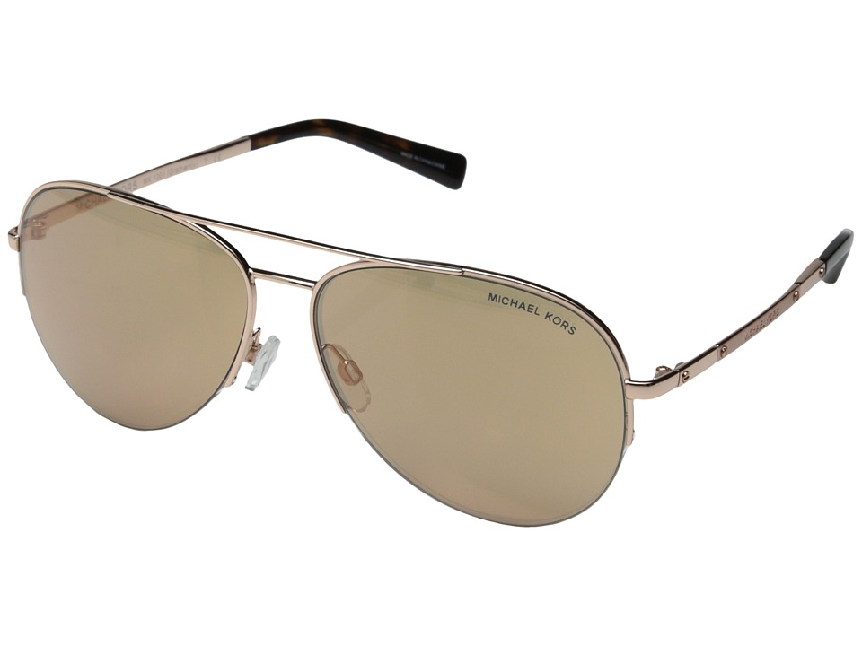 Michael Kors - Gramercy (Rose Gold) Fashion Sunglasses