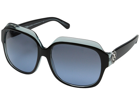 Michael Kors - Crete (Black Blue) Fashion Sunglasses
