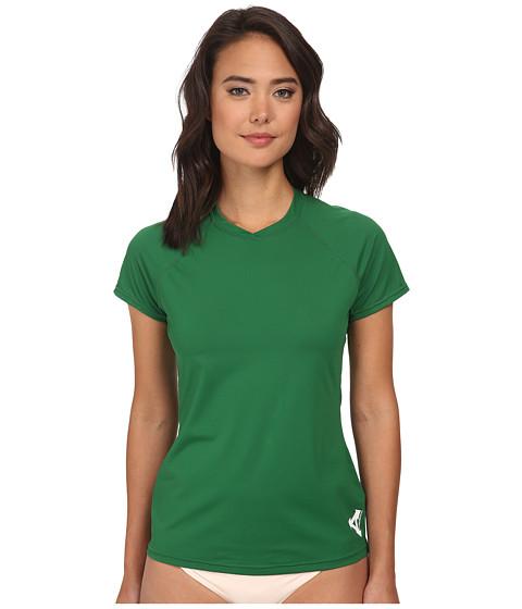 XCEL Wetsuits - Varsity S/S UV (Grass Green) Women's Swimwear