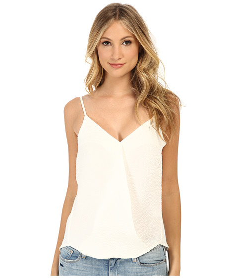 Brigitte Bailey - Wrap Tank Top Blouse (White) Women's Blouse