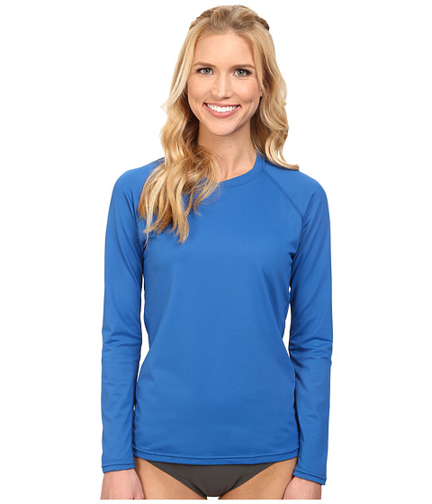 XCEL Wetsuits - Varisty L/S Regatta UV (Cobalt Blue) Women's Swimwear
