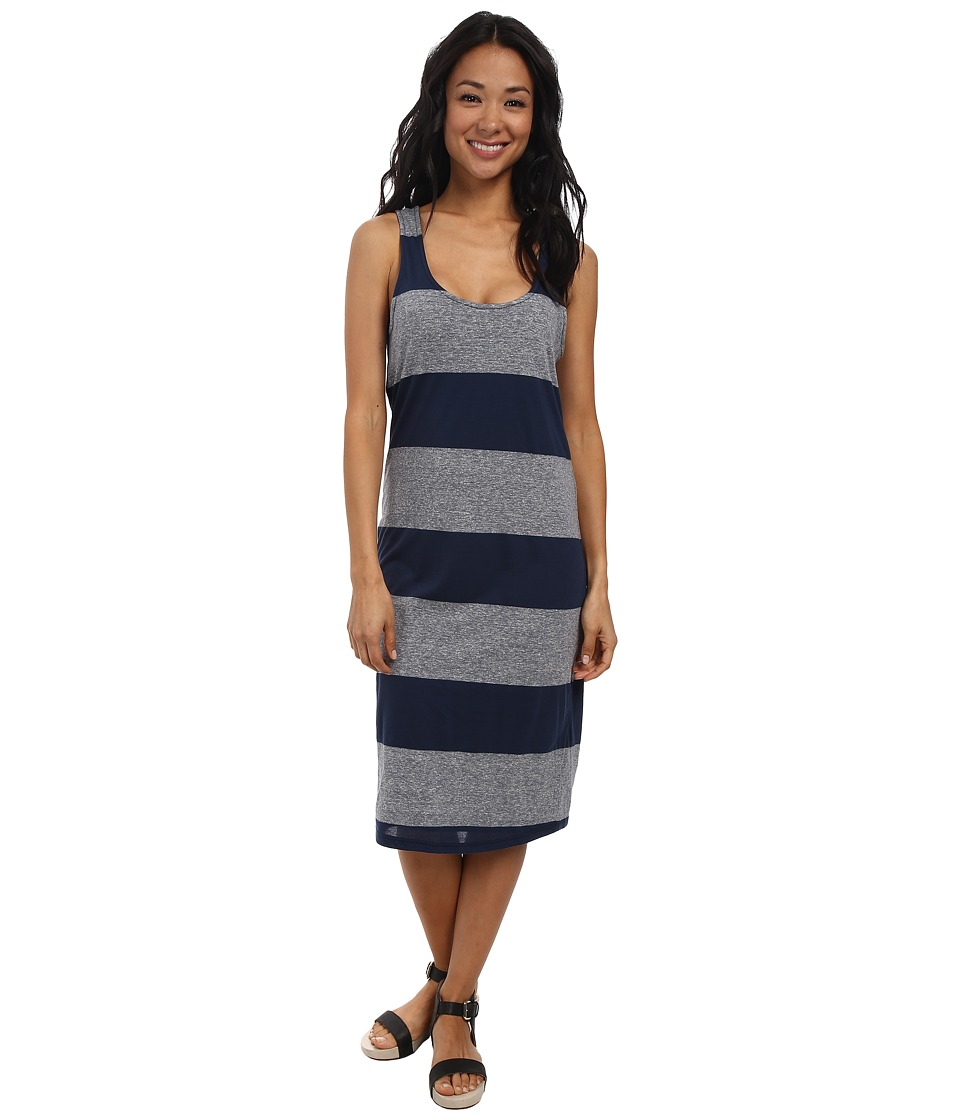 Splendid - Heather Rugby Column Dress (Navy) Women's Dress