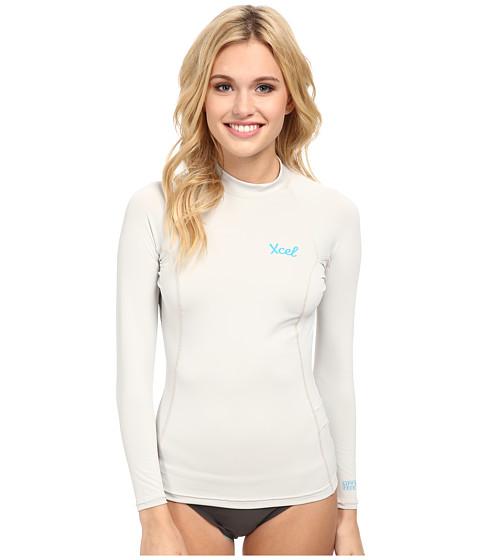 XCEL Wetsuits - Marsha L/S UV (Ice Grey) Women
