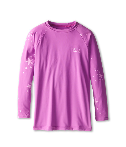 XCEL Wetsuits - Alexa L/S UV (Little Kids/Big Kids) (Rose Violet) Women's Swimwear