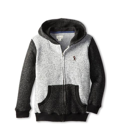 Lucky Brand Kids - Hashtag Hoodie (Big Kids) (Heather Lite) Boy's Sweatshirt