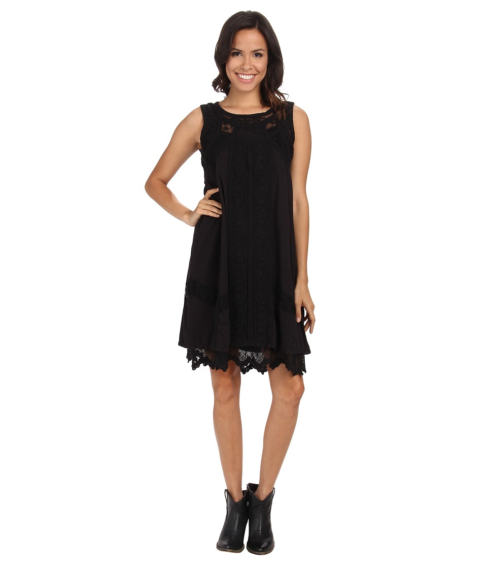 Double D Ranchwear - Evangeline Dress (Black) Women's Dress