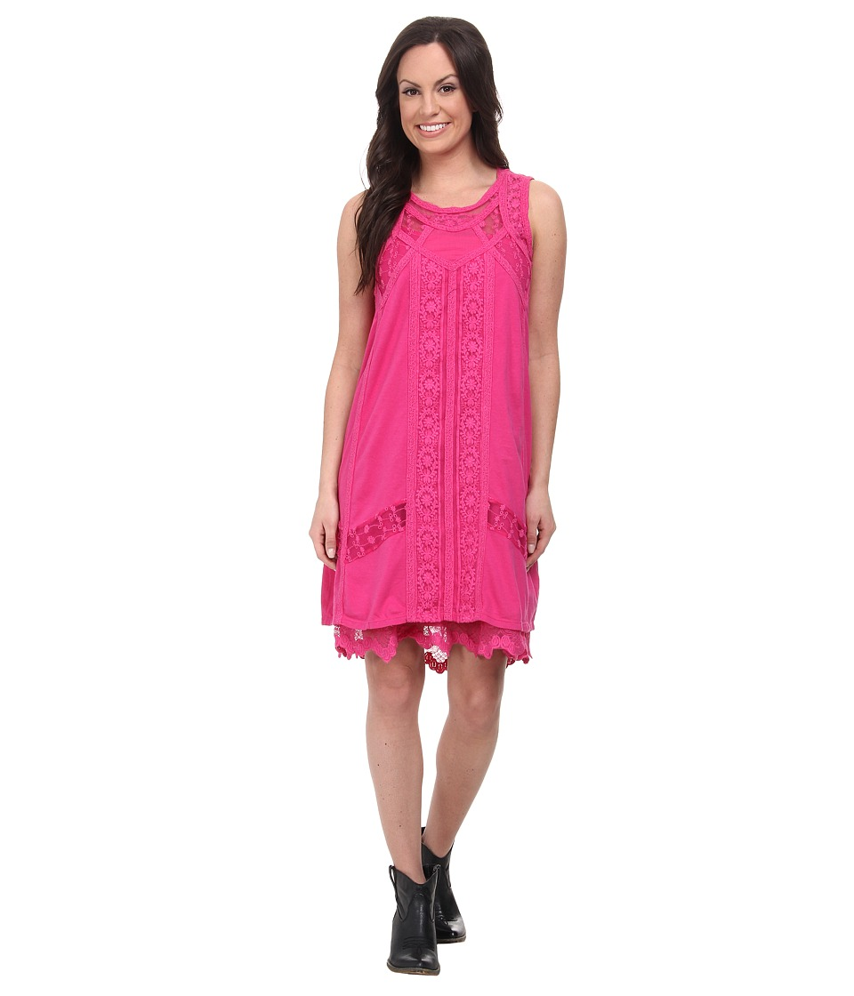 Double D Ranchwear - Evangeline Dress (Happy Trails Pink) Women's Dress