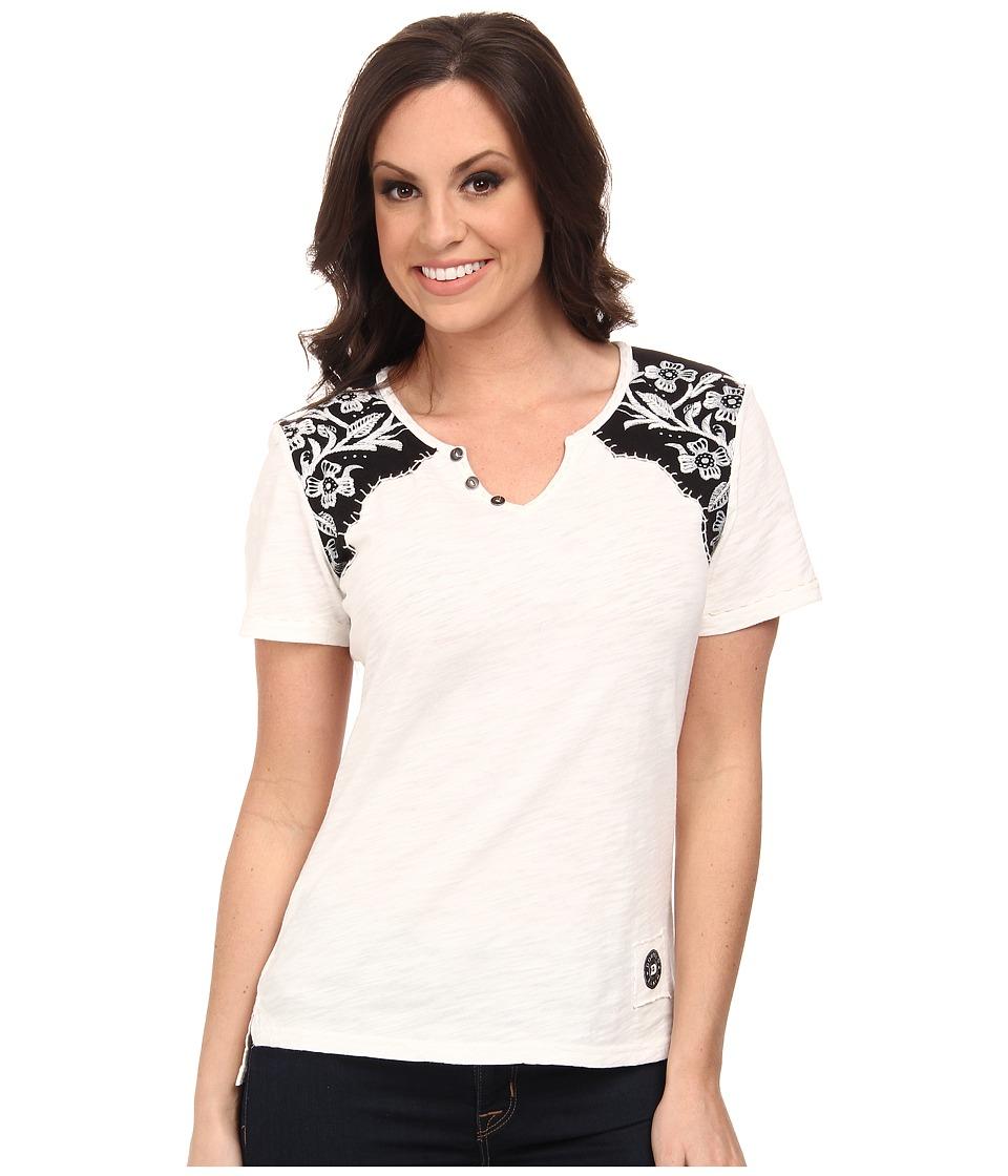 Double D Ranchwear - Tejas Longhorn Tee (String) Women's T Shirt