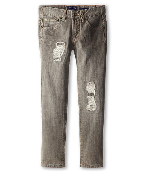 Lucky Brand Kids - Iggy Cooper Slim Jean (Big Kids) (Charcoal Wash) Boy's Jeans