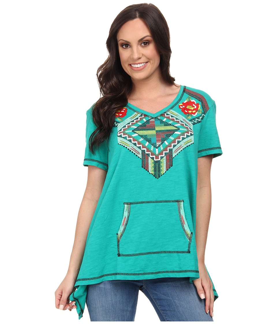 Double D Ranchwear - Trail of Broken Hearts Top (Joleen Jade) Women's Clothing