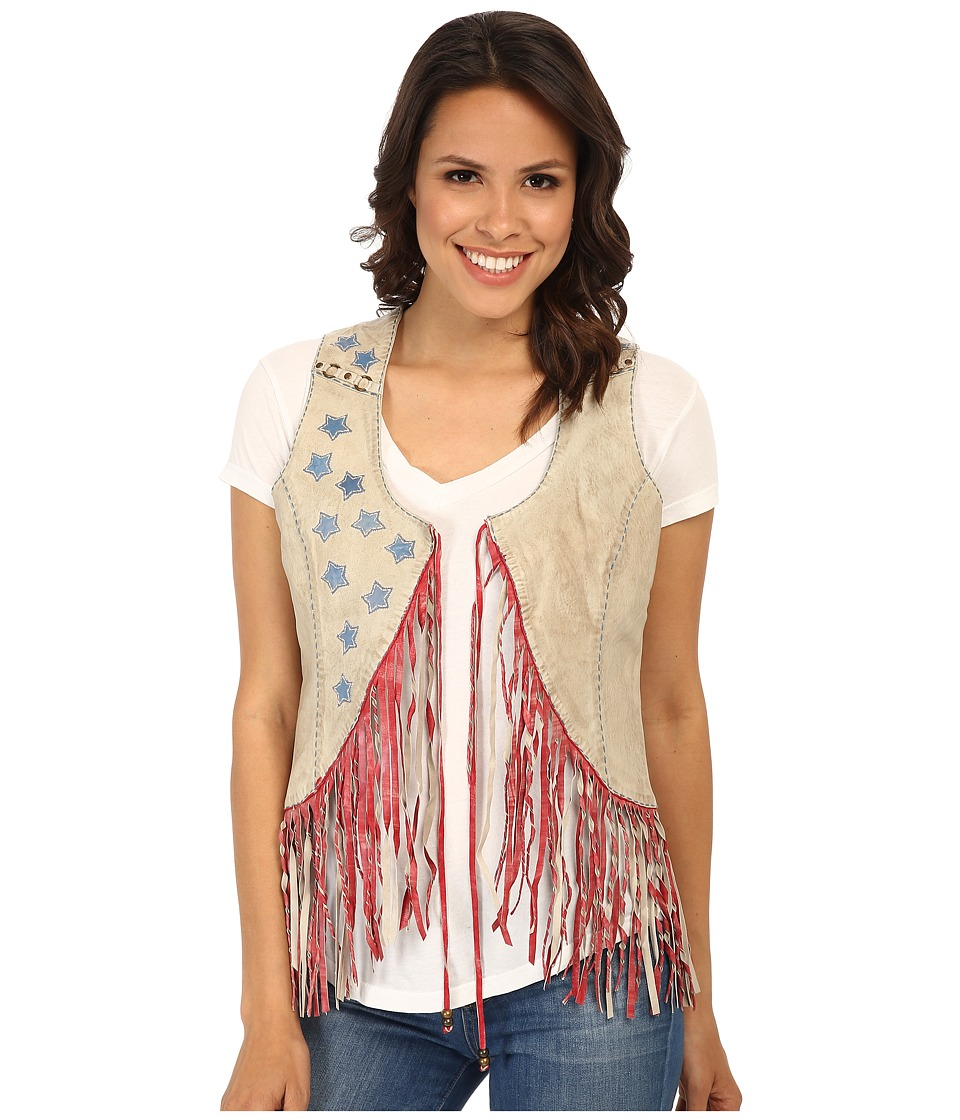 Double D Ranchwear - Where Eagles Fly Vest (String) Women's Vest