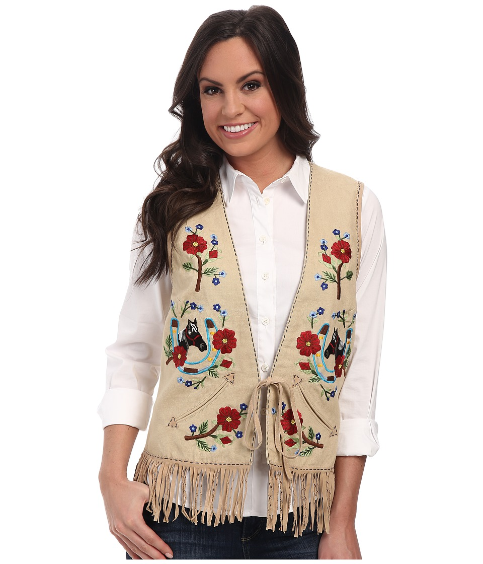 Double D Ranchwear - I Ride An Old Paint Vest (Biscuits & Gravy) Women's Vest