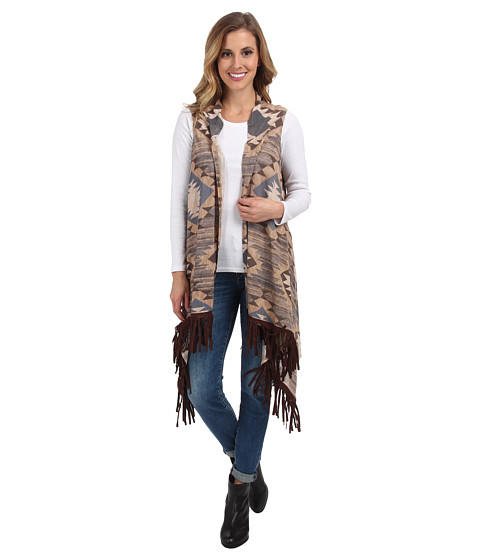 Double D Ranchwear - Leaving Cheyenne Vest (Multi) Women