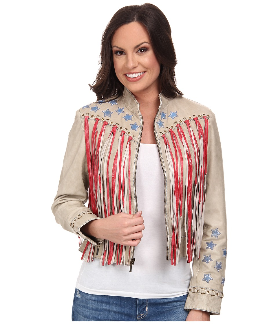 Double D Ranchwear - Where Eagles Fly Jacket (String) Women's Coat